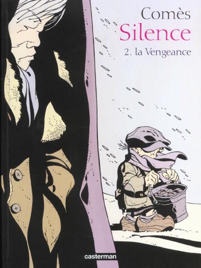 Couverture Silence tome 2 - la vengeance