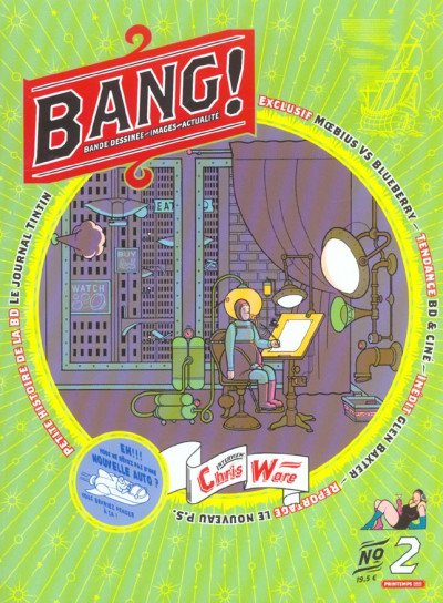 Couverture Bang (revue) tome 2