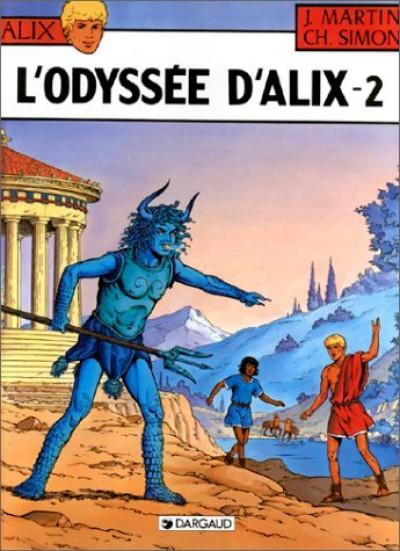 Couverture L'odyssée d'alix tome 2