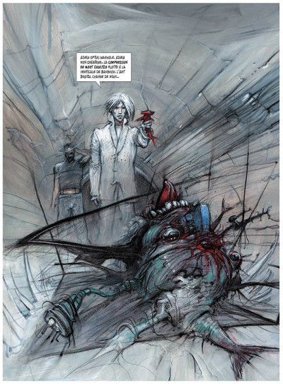 Page 1 Le sommeil du monstre tome 3 - rendez-vous à paris