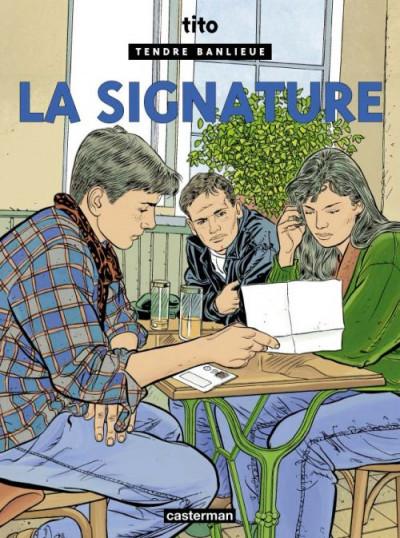 Couverture Tendre banlieue tome 8 - la signature