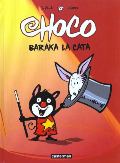 Couverture Choco tome 1 - baraka la cata