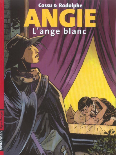 Couverture Angie tome 1 - l'ange blanc