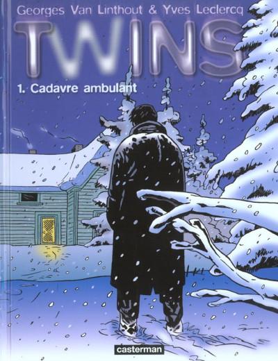 Couverture twins tome 1 - cadavre ambulant