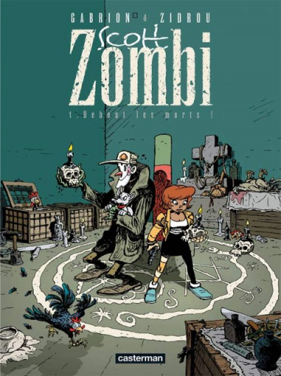 Couverture Scott zombi tome 1 - debout les morts