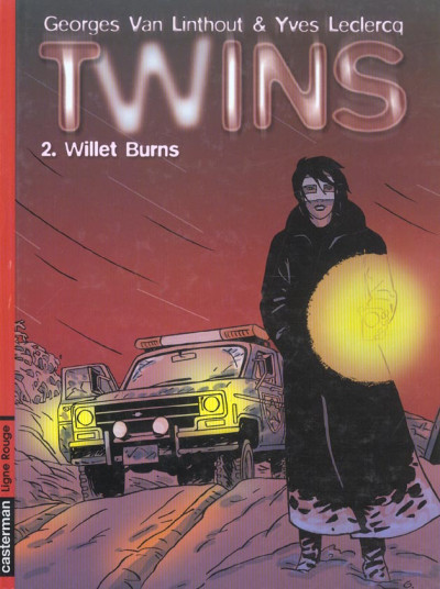 Couverture twins tome 2 - willet burns