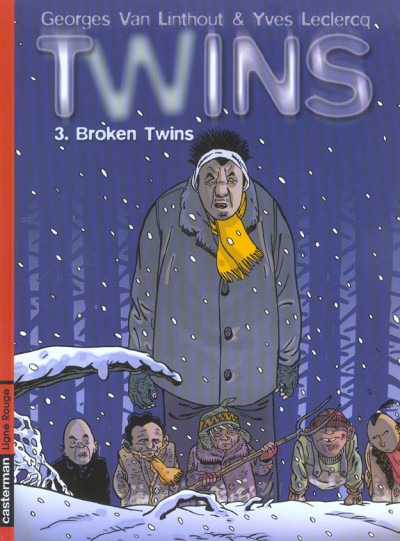 Couverture twins tome 3 - broken twins