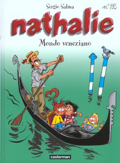 Couverture Nathalie tome 12 - mondo veneziano