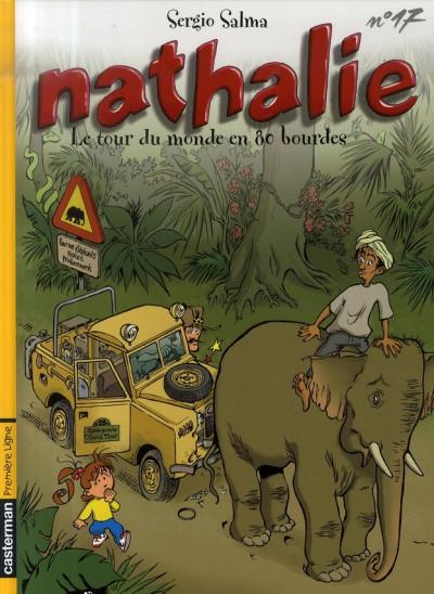 Couverture nathalie tome 17 - le tour du monde en 80 bourdes