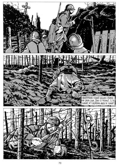 Page 1 c'était la guerre des tranchées (1914-1918)