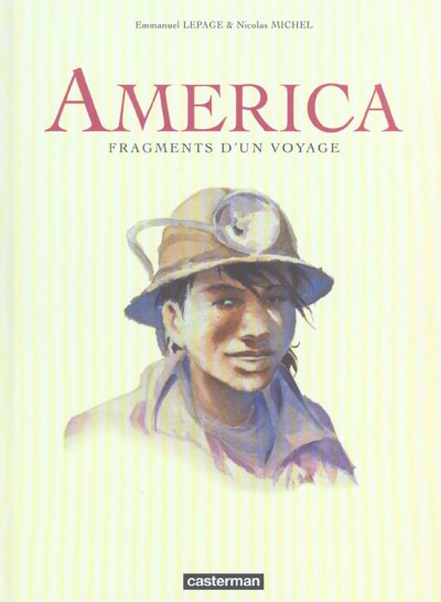 Couverture fragments d'un voyage ; america