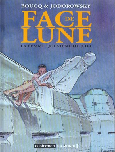 Couverture face de lune tome 4 - la femme qui vient du ciel