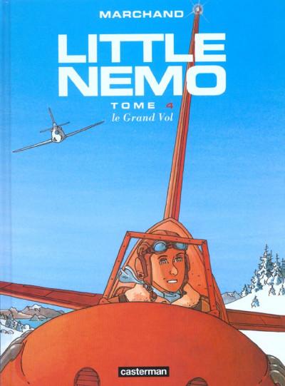 Couverture little nemo tome 4 - le grand vol