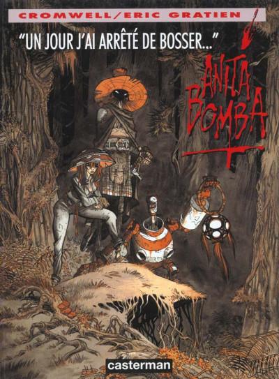 Couverture Anita Bomba tome 3 - un jour j'ai arrêté de bosser