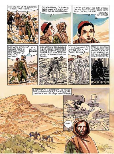 Page 8 Carnets d'orient tome 8 - la fille du djebel amour