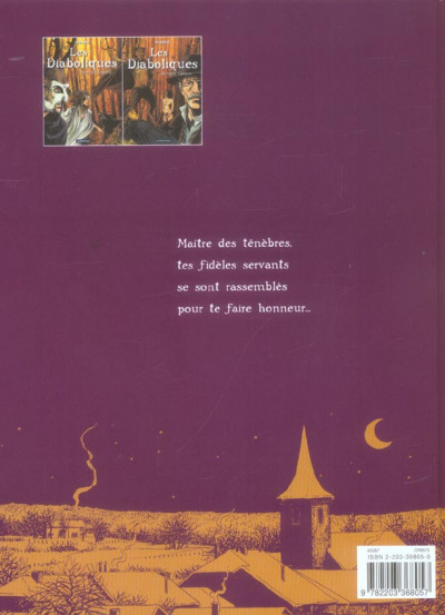 Dos Les diaboliques tome 2 - seconde époque