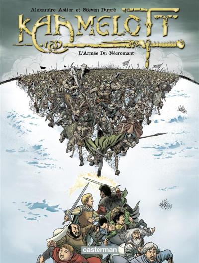 Couverture Kaamelott tome 1 - l'armée du nécromant