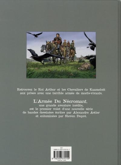 Dos Kaamelott tome 1 - l'armée du nécromant