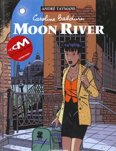 Couverture Caroline baldwin tome 1 - moon river