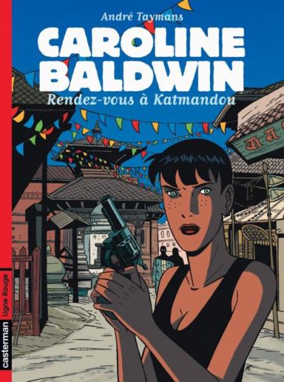 Couverture Caroline baldwin tome 9 - rendez-vous a katmandou