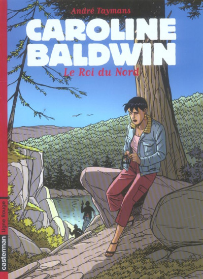 Couverture Caroline baldwin tome 12 - le roi du nord
