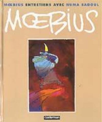 Couverture Entretiens avec moebius