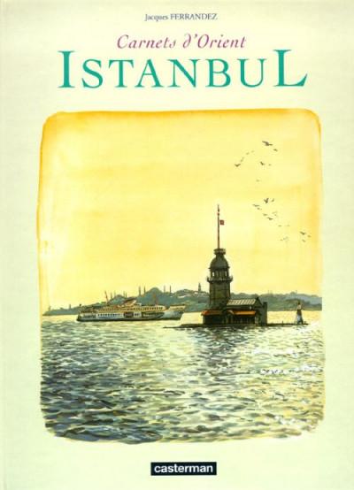 Couverture Istanbul, carnets d'orient