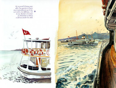 Page 1 Istanbul, carnets d'orient