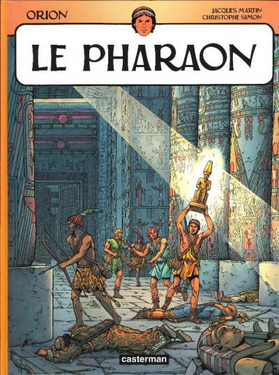Couverture orion tome 3 - le pharaon (relié)