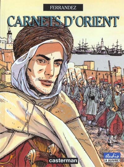 Couverture Carnets d'orient tome 1 - djemilah