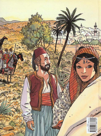 Dos Carnets d'orient tome 1 - djemilah