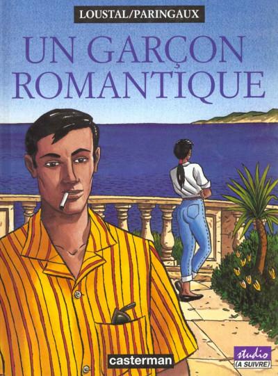 Couverture Un garçon romantique