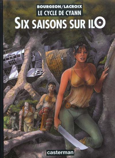 Couverture le cycle de cyann tome 2 - six saisons sur ilo