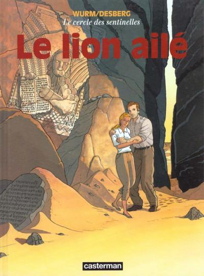 Couverture le cercle des sentinelles tome 2 - le lion aile