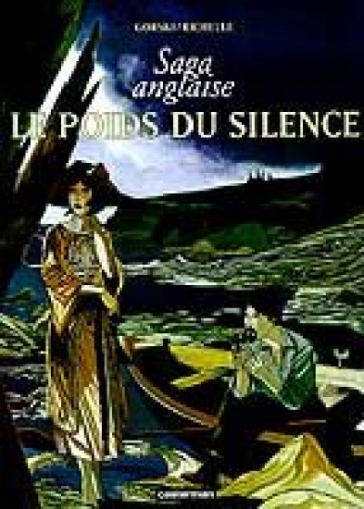 Couverture La saga anglaise tome 1 - le poids du silence