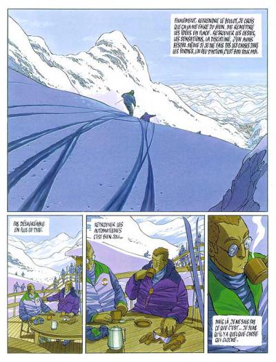Page 1 Le tueur tome 2 - l'engrenage