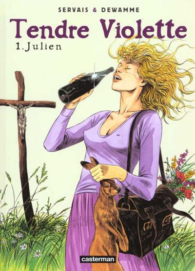 Couverture tendre violette tome 1 - julien