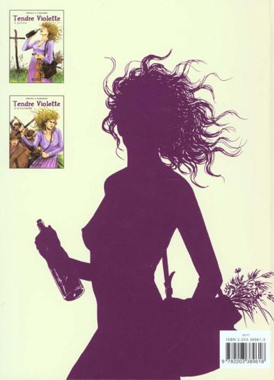 Dos tendre violette tome 1 - julien