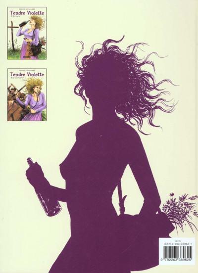Dos Tendre violette tome 2 - la cochette