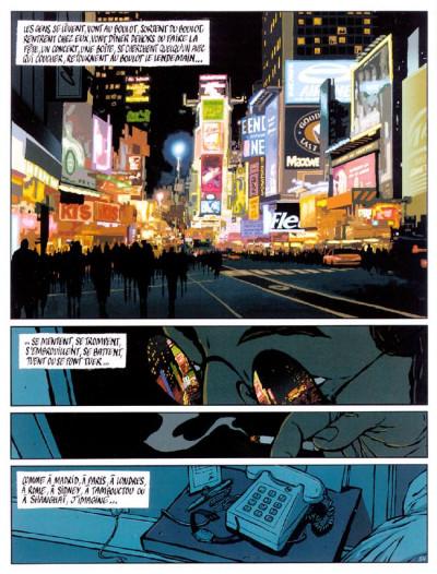 Page 3 Le tueur tome 3 - dette