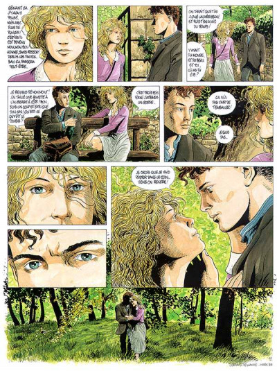 Page 1 tendre violette tome 3 - malmaison