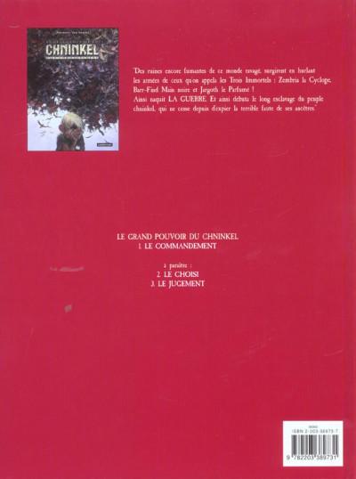Dos le grand pouvoir du chninkel tome 1 - le commandement