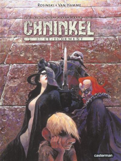 Couverture le grand pouvoir du chninkel tome 3 - le jugement