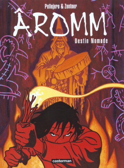 Couverture Aromm tome 1 - destin nomade