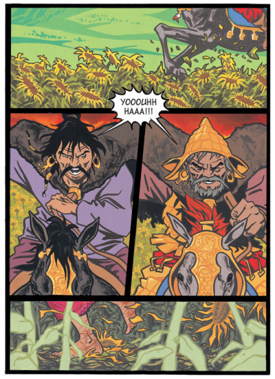 Page 4 Aromm tome 1 - destin nomade