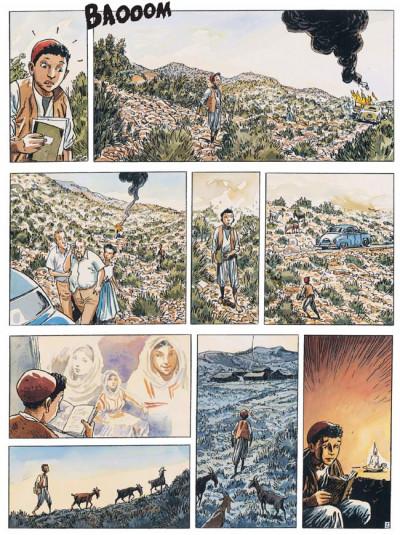 Page 1 Carnets d'orient tome 6 - la guerre fantôme