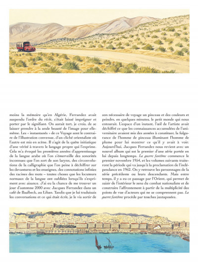 Page 3 Carnets d'orient tome 6 - la guerre fantôme