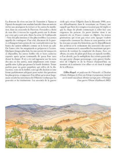 Page 4 Carnets d'orient tome 6 - la guerre fantôme
