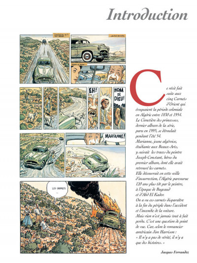 Page 5 Carnets d'orient tome 6 - la guerre fantôme