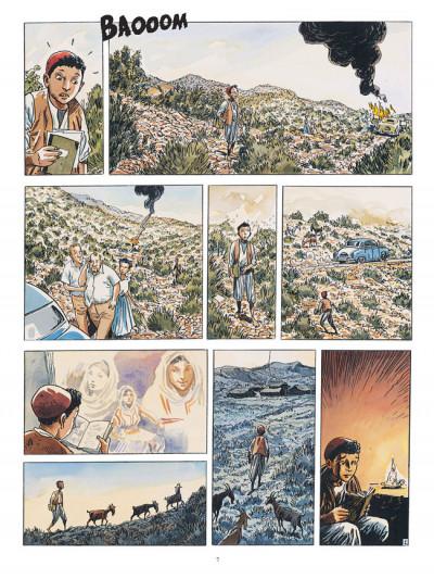 Page 7 Carnets d'orient tome 6 - la guerre fantôme